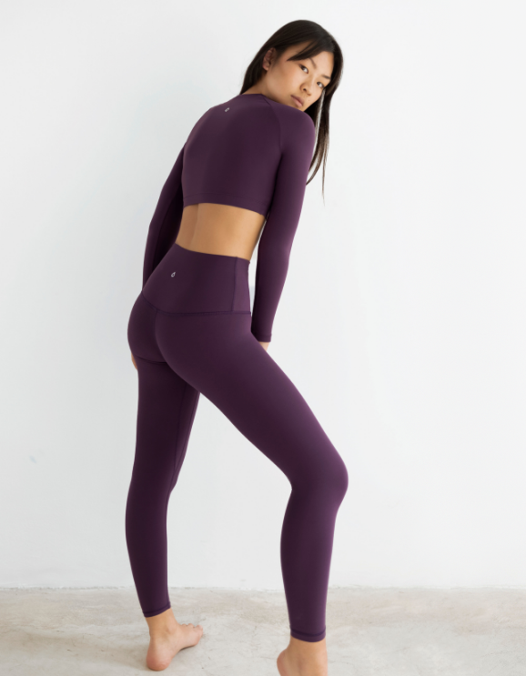 Legging Netis Dark Purple