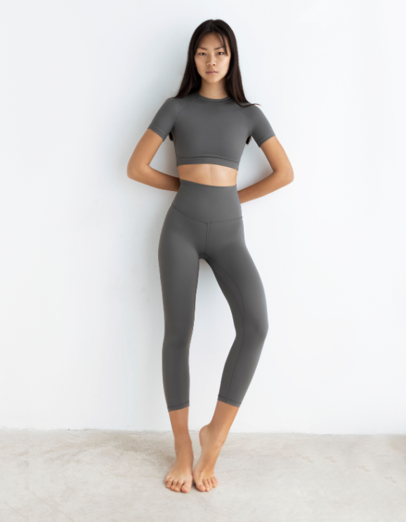 Legging Capri Slate Grey