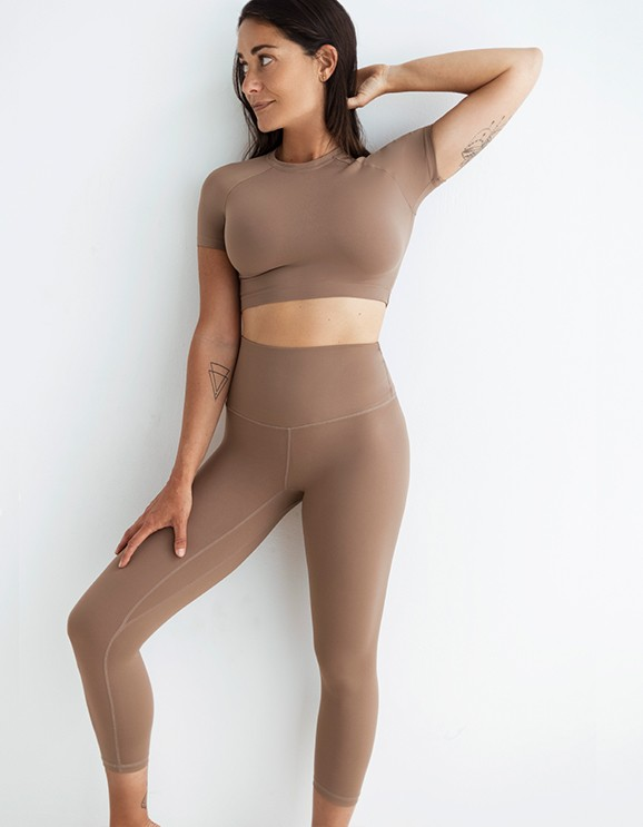 Legging Capri Cedar Brown