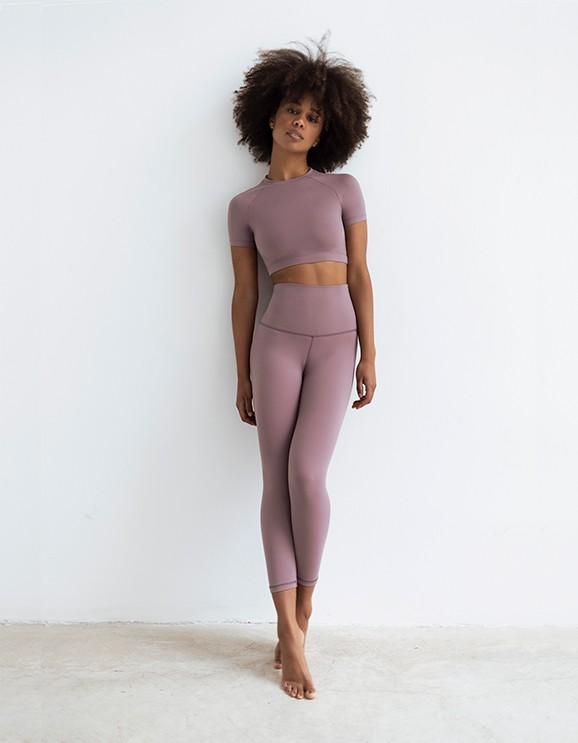 Leggings Capri Light Purple