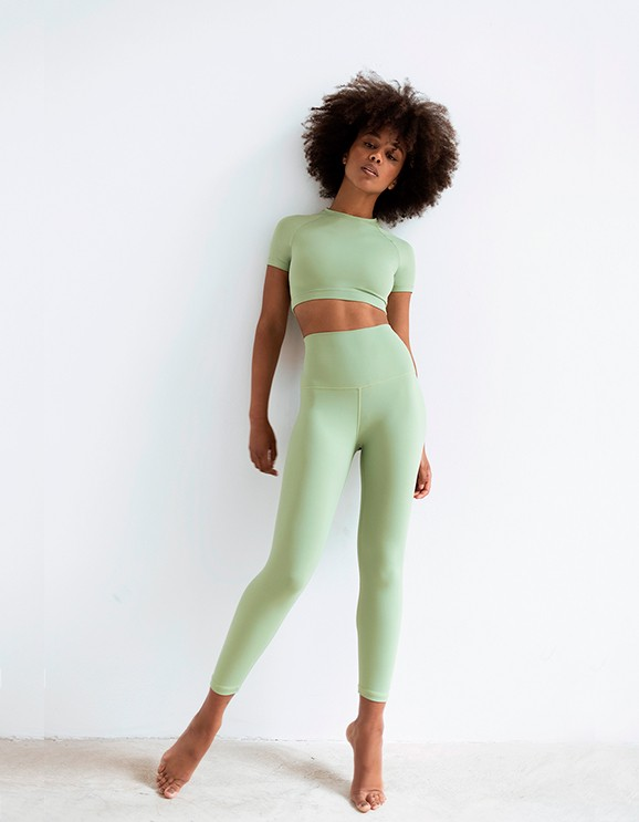 Legging Netis Light Green
