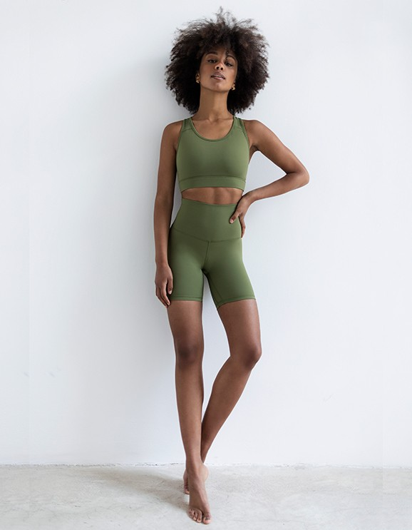Short Circe Dark Olive